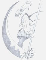 Maka Albarn and Soul Eater by cak04