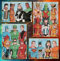 Justice League Commissions by calslayton