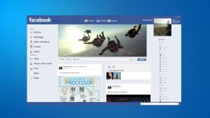 Facebook client GUI by cocoonH