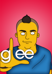 Glee-Puck by orl-graphics