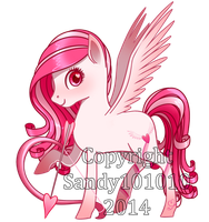 Cupid Curls - Adoptable Pony - CLOSED by Sandy101010