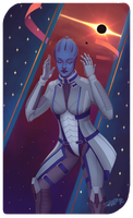 Liara T'Soni by shallete