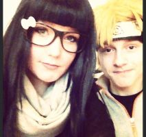 NaruHina Cosplay by XRallemangafreak