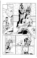 CAPTAIN AMERICA - Inks over Carlos Pacheco by lebeau37