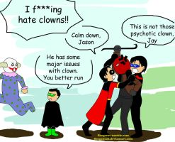 I hate clown by Shega9146