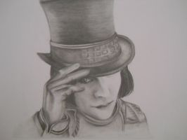 Johnny Depp (as Willy Wonka) by Sea-Sound