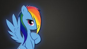 Rainbow Dash Wallpaper by RainbowDashRocks101