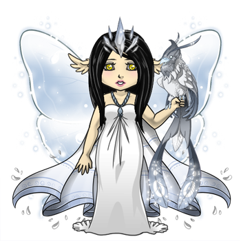 Snowdoll's Full Moon Sprite Outfit by ItsAndromeda