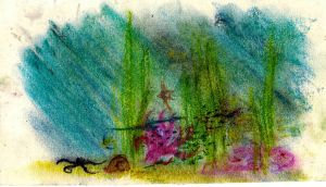 31 2010 Tini - Chalk: Coral Reef by JusTiniStilborn
