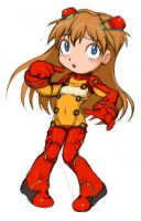TEST SUIT ASUKA by 'HA' by B3-9632