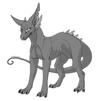 UPDATED - Common Pererth lineart - Free (PSD+PNG) by Swarthylacine