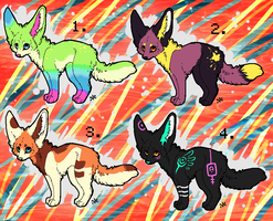 .: Fennec Fox Auction CLOSED:. by Supernova-adoptables