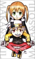 Maka and Soul by SpringSounds