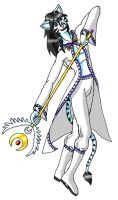 White Summoner by charmedlyon