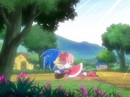 Sonic X: Episode 52 (Japanese) The Lost Scene by AlyssiaLovesPie24