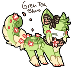 Green Tea Blooms Tranceling AUCTION by Celestial-Trance