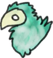Crayon Bird by ZeloYongguk