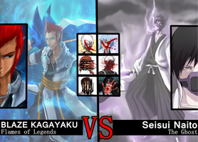 Bleach Kombat - Semi Final - Flame VS Ghost by Lanokir