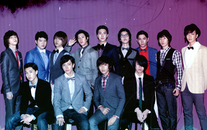 Super Junior 13 Wallpaper by IchigoPlum