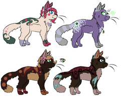 adoptables CLOSED by saffyadopts10a