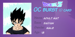 Adult Mat Oc Burst card by LilRwar