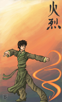 Bending Arts 1:Zuko by blackbirdsfly