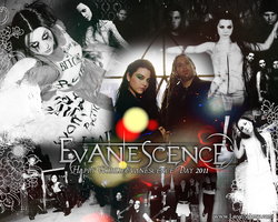 Evanescence Day Wallpaper by princesiitha