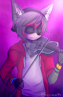 Cause violin. by xFennek