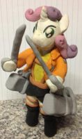 Plasticine - Sweetie Belle MLP/Attack on titan by Vampairious-Kun