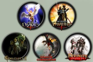 Divinity Series Icons by kodiak-caine