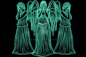Weeping angels by AlanSchell