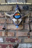 Sky Spirits Wall Kachina by Black-Feather