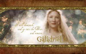Galadriel Wallpaper by drkay85