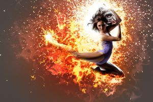 Afterburn Dancer by docx