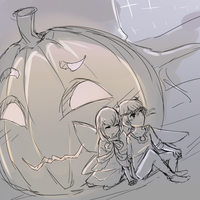 Halloween Pumpkin Yay by Luskish