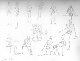Poses by fosskers