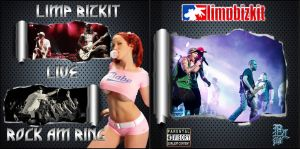 Limp Bizkit - Rock am Ring - LIVE- CD Cover front by pebola73