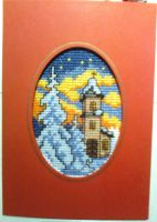 Christmas Card Embroidery by ToveAnita