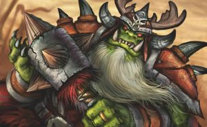 Orc King by VegasMike