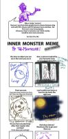 Picky Inner Monster Meme by dragonfreako