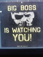 Big Boss is watching you by gamemaster8910