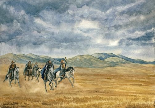 Fingon's horseriders by Filat