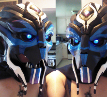 turian mask by Safyras