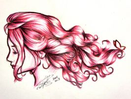 7 Days Color Challenge: Pink Breeze by BreathlessDragon