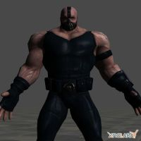 Bane TDKR model by ethaclane