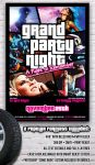 Grand Party Night Flyer - GTA Style by PVillage