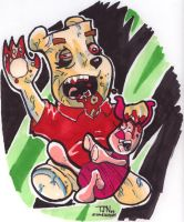 Zombie Pooh Revisited by DorkZombie