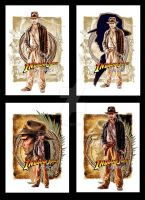 Indy DVD box set covers by jasonpal