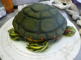 Turtle Cake 1 by keki-girl
