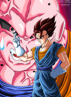 Ultimate Buu vs Vegetto -GO- by JJJawor